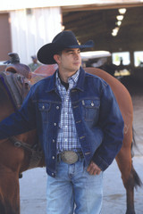 Men's Cinch Jacket, Denim