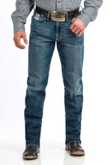 Men's Cinch Jeans, White Label, Medium Stone