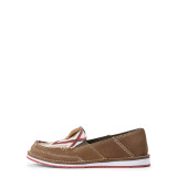 Women's Ariat Cruiser, Brown with Red and Yellow Aztec