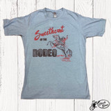Women's Ranch Swag Tee, Sweetheart of the Rodeo, Stonewash Denim