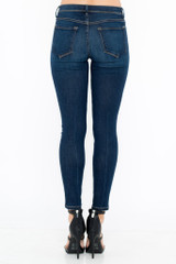 Women's Sneak Peek Jeans, Mid Rise Skinny, Medium Dark Wash