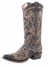 Women's Miss Macie Boots, Pure Prairie, Black