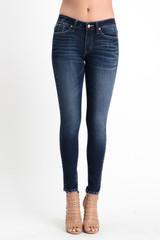 Women's KanCan Jeans, Holly Rama, Skinny Dark Wash