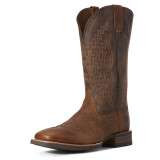 Men's Ariat Boot, Tycoon, Dusty Brown Vamp, Brown Shaft