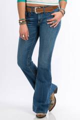 Women's Cruel Girl Jeans, Hannah, Medium Stone