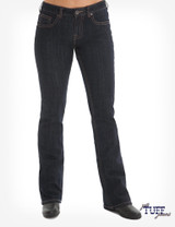 Women's Cowgirl Tuff Jeans, Just Tuff Dark