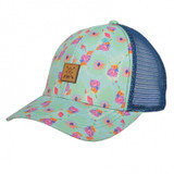 Women's STS Cap, Patch, Flowers and Leather