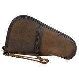 STS Pistol Case, Medium, Leather