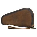 STS Pistol Case, Medium, Leather