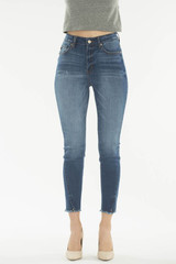 Women's KanCan Jeans, Ankle Skinny, Medium Wash