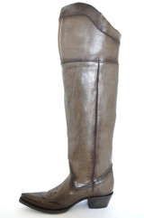 "Women's Union of Angels Boot, ""Coyote"" Over the Knee, Latte Color"
