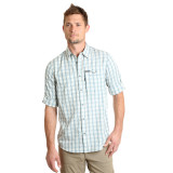 Men's Wrangler L/S, Light Blue and Brown Plaid