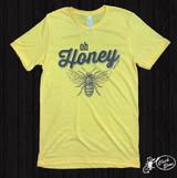 Women's Ranch Swag Tee, Oh Honey, Yellow