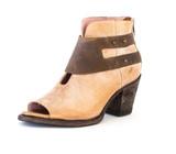 Women's Miss Macie Boot, I Do Declare, Tan Open Toe