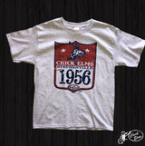 Kids XOXO Tee,  Chick Elms 1956, Gray