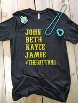 Women's Whole Herd Tee, #TheDuttons, Yellowstone