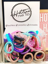 HHT Hair Tie Singles, Assorted Colors and Sizes