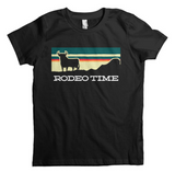 Kids Dale Brisby Tee, Sunset Rodeo Time