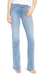 Women's 7FAMK Jeans, Cosmo Dojo, Light Wash, Gold 7s