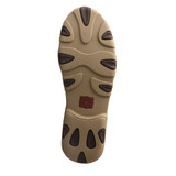 Women's Twisted X Mocs, Brown Tooled Floral