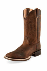 Men's Old West Boot, Brown Shaft with Brown Vamp