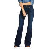 Women's Ariat Jeans, Katie Flare, Dark Maya Wash