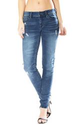 Women's Grace in LA Jeans, Medium Wash Jegging