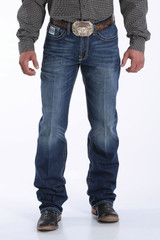 Men's Cinch Jeans, White Label, Dark Stone Wash, ArenaFlex
