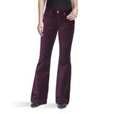 Women's Wrangler Jeans, Retro Mae, Purple Velvet Flare
