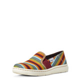 Women's Ariat Shoe, Ryder, Old Muted Serape Slip On