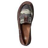 Women's Ariat Cruiser, Camo with Coffee Bean Suede Sides