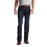 Men's Ariat Jeans, Rebar M5, Slim Fit, Striaght Leg, Blackstone