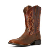 Men's Ariat Boot, Sport Riggin, Copper Penny Vamp with Rust Red Shaft