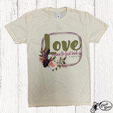 Women's Ranch Swag Tee, Love Verse, Natural