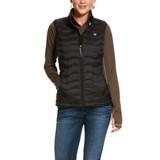 Women's Ariat Vest, Ideal 3.0 Down, Black