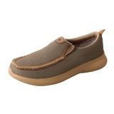 Men's Twisted X Shoe, Slip On EVA12R, Olive