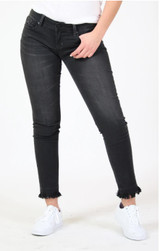 Women's Grace In La Jeans, Skinny, Black