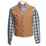 Men's Wyoming Traders, Bronco Canvas Vest