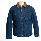 Men's Wyoming Traders Jacket, Denim with Fleece Lining