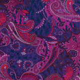 Wyoming Traders Wild Rag, Paisley Pomegranate