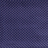 Wyoming Traders Wild Rags, Navy Polka Dots