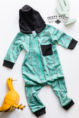 Kids Crazy Train Romper, Rockin' Rodeo Zip Up, Hoodie