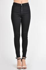 Women's KanCan Jeans, Gemma High Rise, Super Skinny, Black