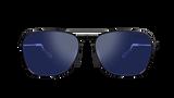 Bex Sunglasses, Ranger, Black Frame, Lavender Lenses