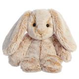 "Aurora Stuffed Animal, 9"" Paddle Bunny Beige"