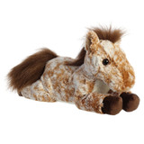 "Aurora Stuffed Animal, 12"" Mocha Horses"