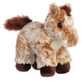 "Aurora Stuffed Animal, 8"" Mocha Horses"
