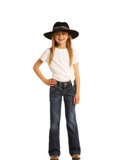 Girls Rock & Roll Jeans, Vintage Trouser, Back Seam, No Pocket