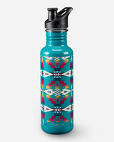Pendleton Water Bottle, Tuscon Turquoise Aztec