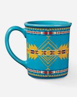 Pendleton Coffee Mug, Eagle Gift Turquoise, 18oz
